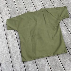 Crest Tops - Olive Green Scrub Top